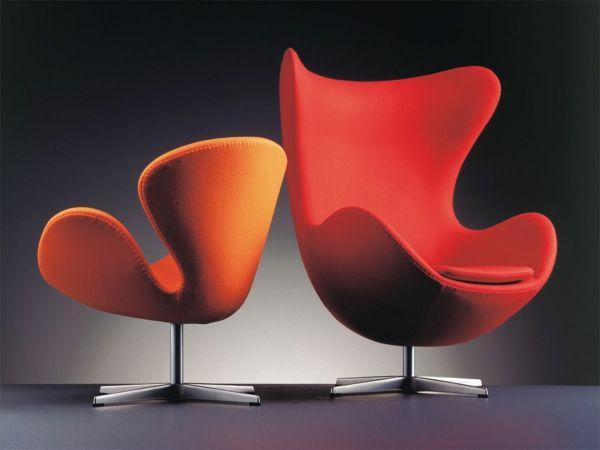 Une Fauteuil Design Rouge L Expression Des âmes Passionnées - Fauteuil tournant design