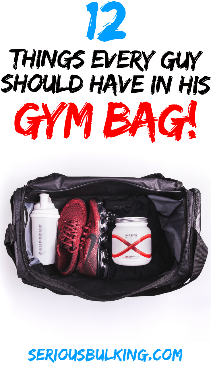 12 Gym Bag Essentials to Maximize your Gym Sessions! #musclebuilding #buildingmuscle #gainmuscle #mu...