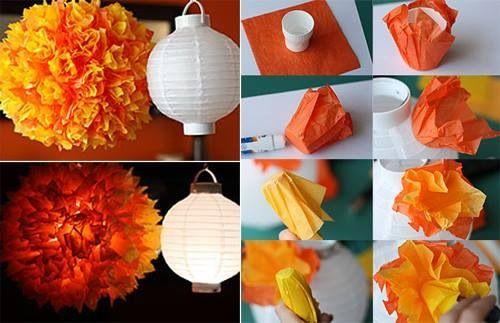 Lampadario Di Carta Velina : Lampadario carta velina carta velina paper lanterns paper e decor