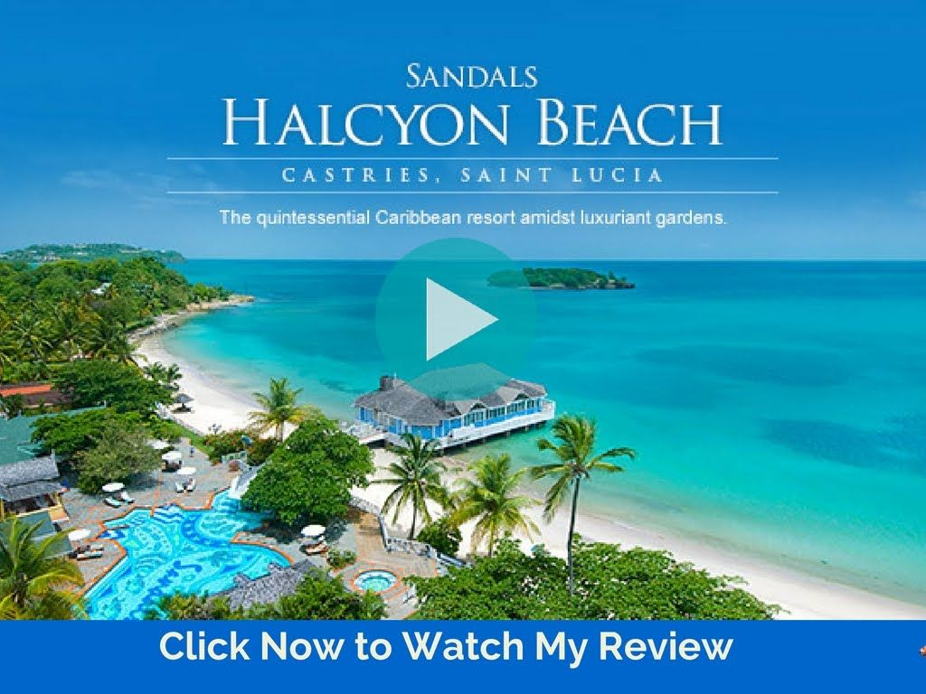 The All Inclusive Sandals Halcyon Resort In St Lucia Travel Review