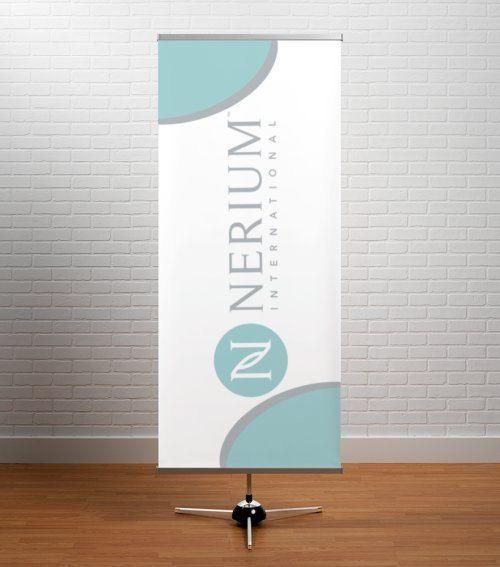 Nerium Banner OutdoorIndoor Vertical Banner By DirectSalesbyMojo - Vertical vinyl banners