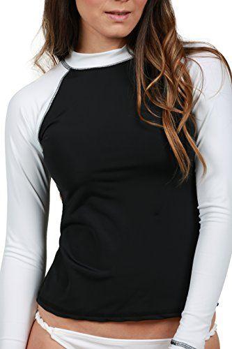 nice Ingear Rash Guard Ladies Swim Shirt Surf Swimwear Beach Swim T Shirt Made in USA