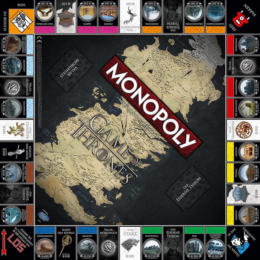 Monopoly Gameofthrones Daenerys Targaryen Dragons Collectorsedition Winterfell Stark Game Of Thrones Game Of Thrones Geschenke Game Of Thrones Bucher