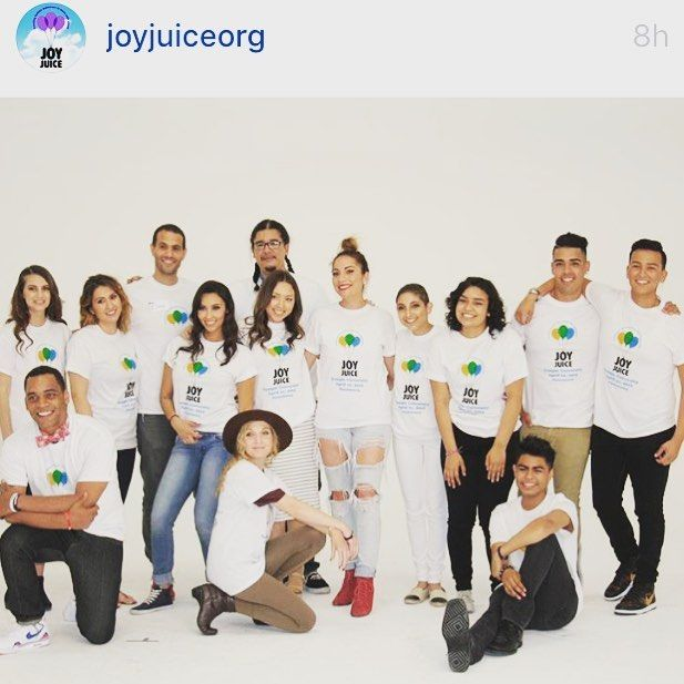 When you work with amazing souls immediately shine. Thank you @joyjuiceorg for allowing me to contribute with this cause. It was a wonderful experience and it allowed me to express my art for a purpose. @uly159 #haironpoint #superstars #allstars #champions #cause #fkcancer #staystrong  by marlenehairla