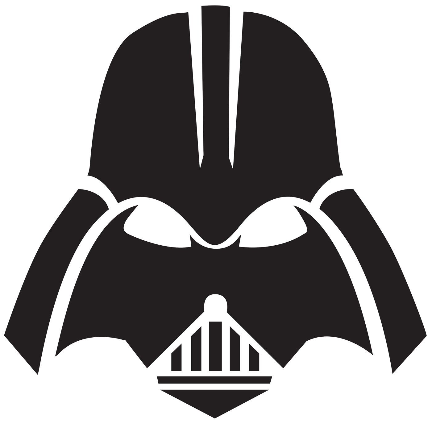 darth vader mask - Pochoir Dark Vador