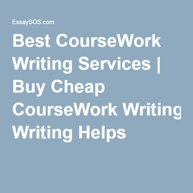 Cheap coursework writing service