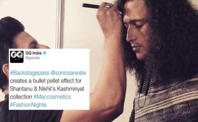 Pellet guns @ fashion show: GQ doesn't get India's sensibilities like Vogue didn't
