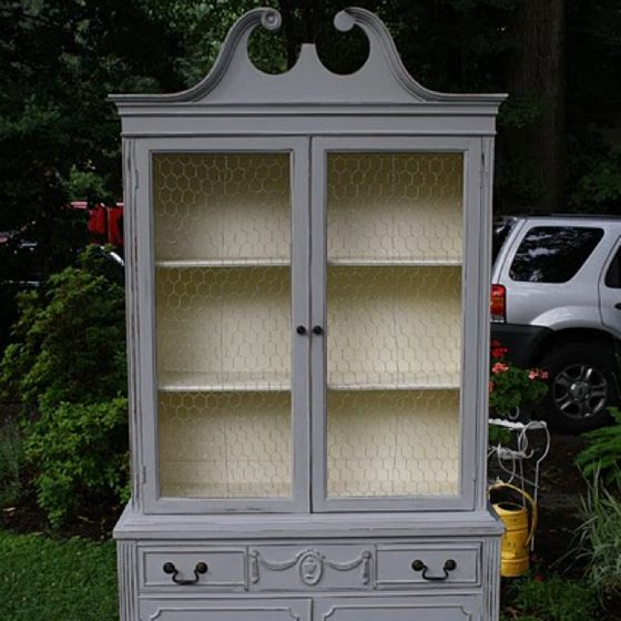 My Exact China Cabinet..looks Sooo Good Painted!