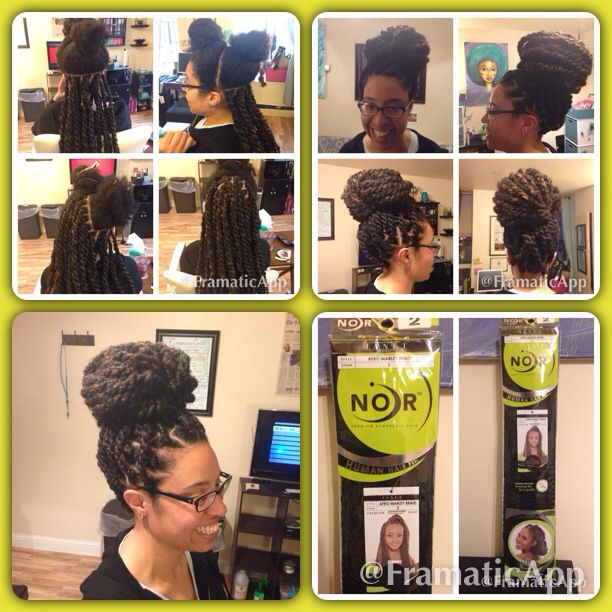 Style Havana Twists Hair Added Noir Afro Marley Braid