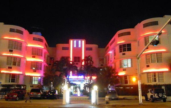 Haddon Hall 1941 By L Murray Dixon Miami Beach Florida Streamlined Art Deco Architecture