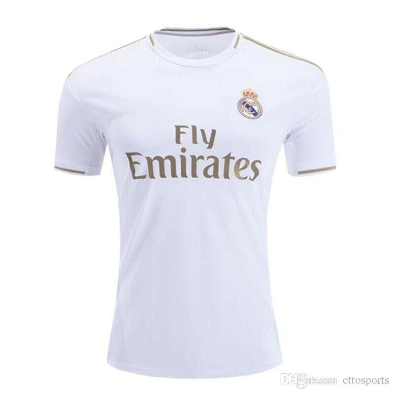 best authentic c77cd a2e61 2020 Real Madrid Hazard soccer jersey real madrid jerseys ...