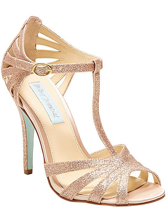 401ba53851c2d SB-TEE CHAMPAGNE women's evening high t-strap | From Miss to Mrs ...