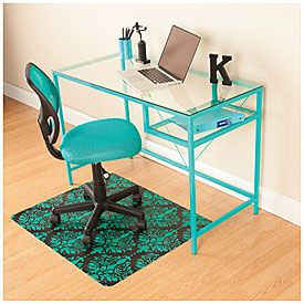 Aqua Glass Desk Glass Desk Desk Aqua Glass