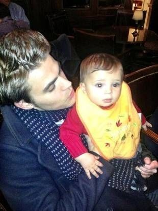 Who Is The Father Of Elena's Baby On Vampire Diaries : father, elena's, vampire, diaries, (DOES, BABY???), Fricken, Adorable!!, Wesley,, Wesley, Vampire, Diaries,, Stefan, Salvatore