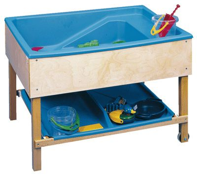 bac eau sable bac en plastique tr s solide la fois bac eau et bac sable pour un. Black Bedroom Furniture Sets. Home Design Ideas