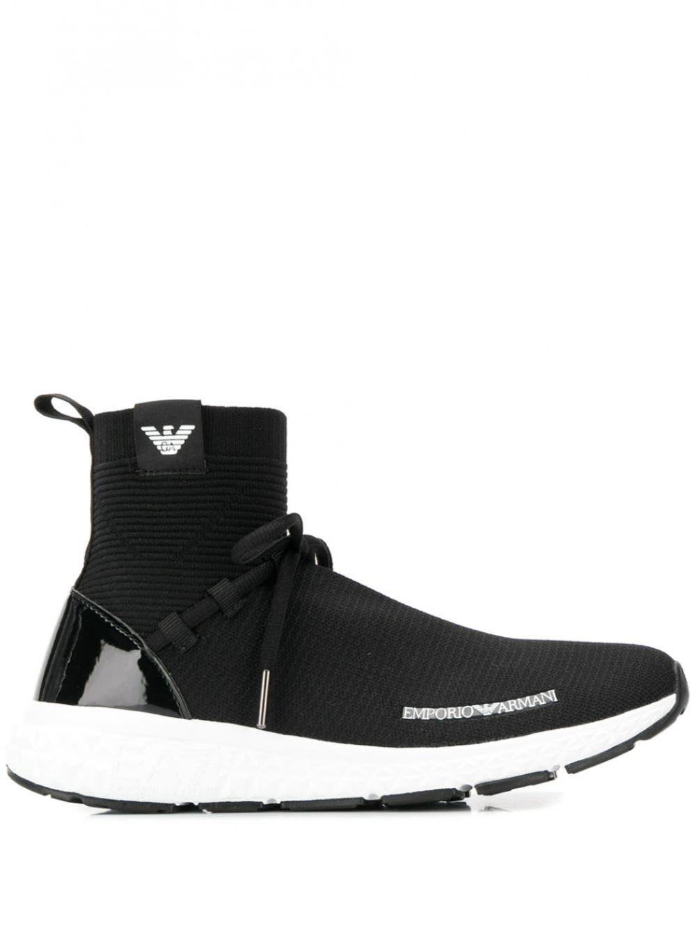 Emporio Armani Trainers Sneaker Socks Sneakers White Armani Socks Socks Sneakers Sneakers