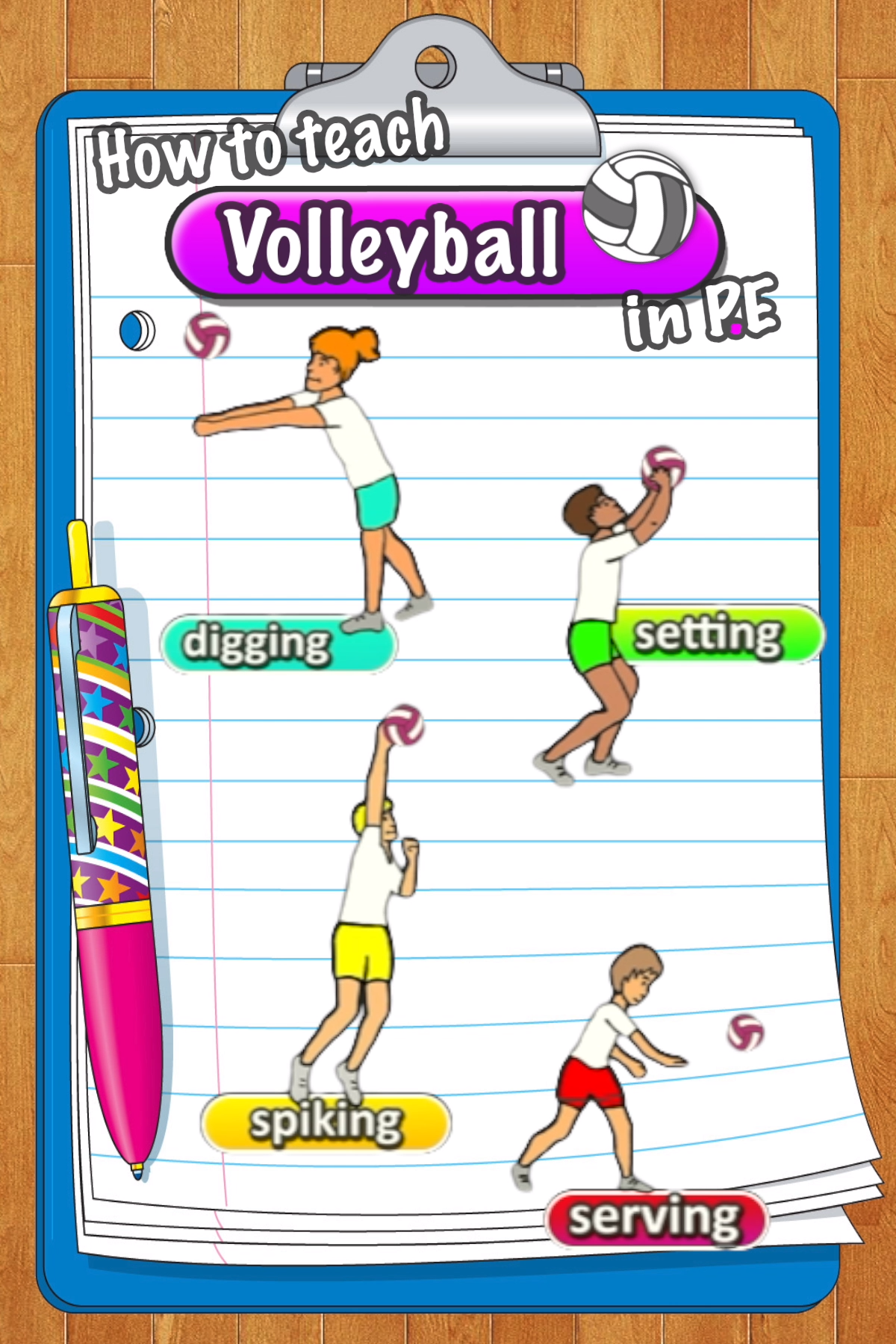 Volleyball Games And Activities Teach Volleyball In P E Video Physical Education Lessons Physical Education Physical Education Games