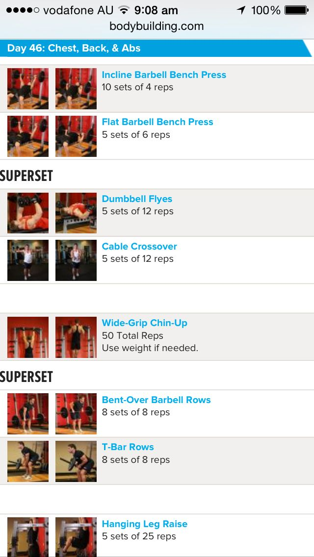 Arnold schwarzenegger blueprint workout day 4 gym workouts arnold schwarzenegger blueprint workout day 4 malvernweather