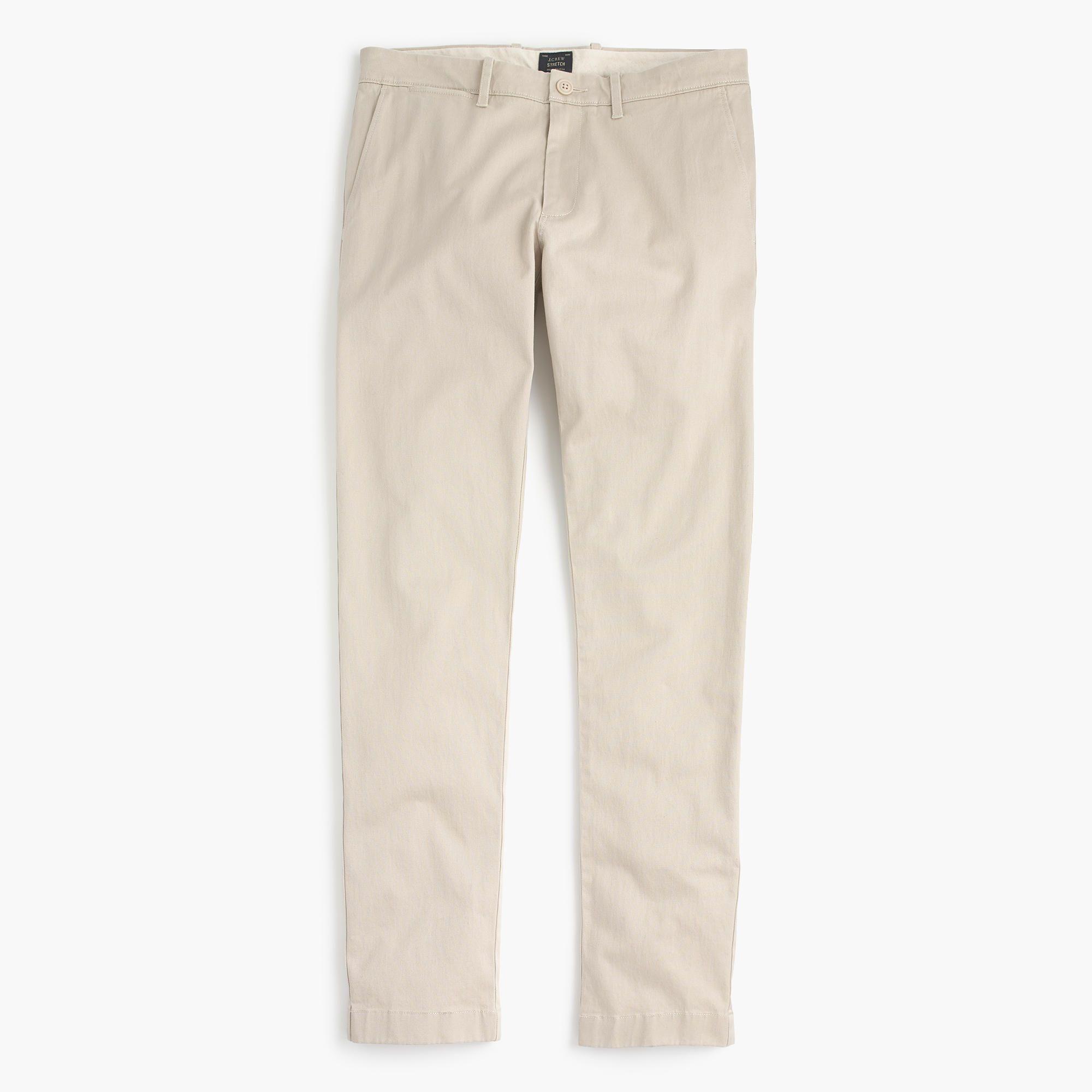 ffe6d0c60d J.Crew - 484 Slim-fit pant in stretch chino WHITE | Kirksey & Owen ...