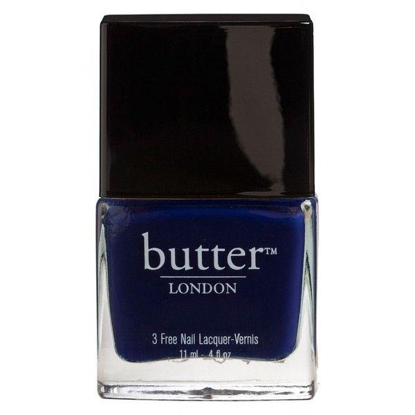 Royal Navy Lacquer - Butter London - Dark blue - Nail Polish ...
