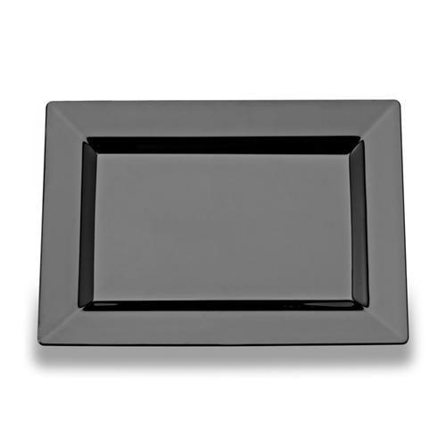 Rectangular Black Plastic Dessert Plates  sc 1 st  Pinterest & Rectangular Black Plastic Dessert Plates | plates | Pinterest | Cake ...