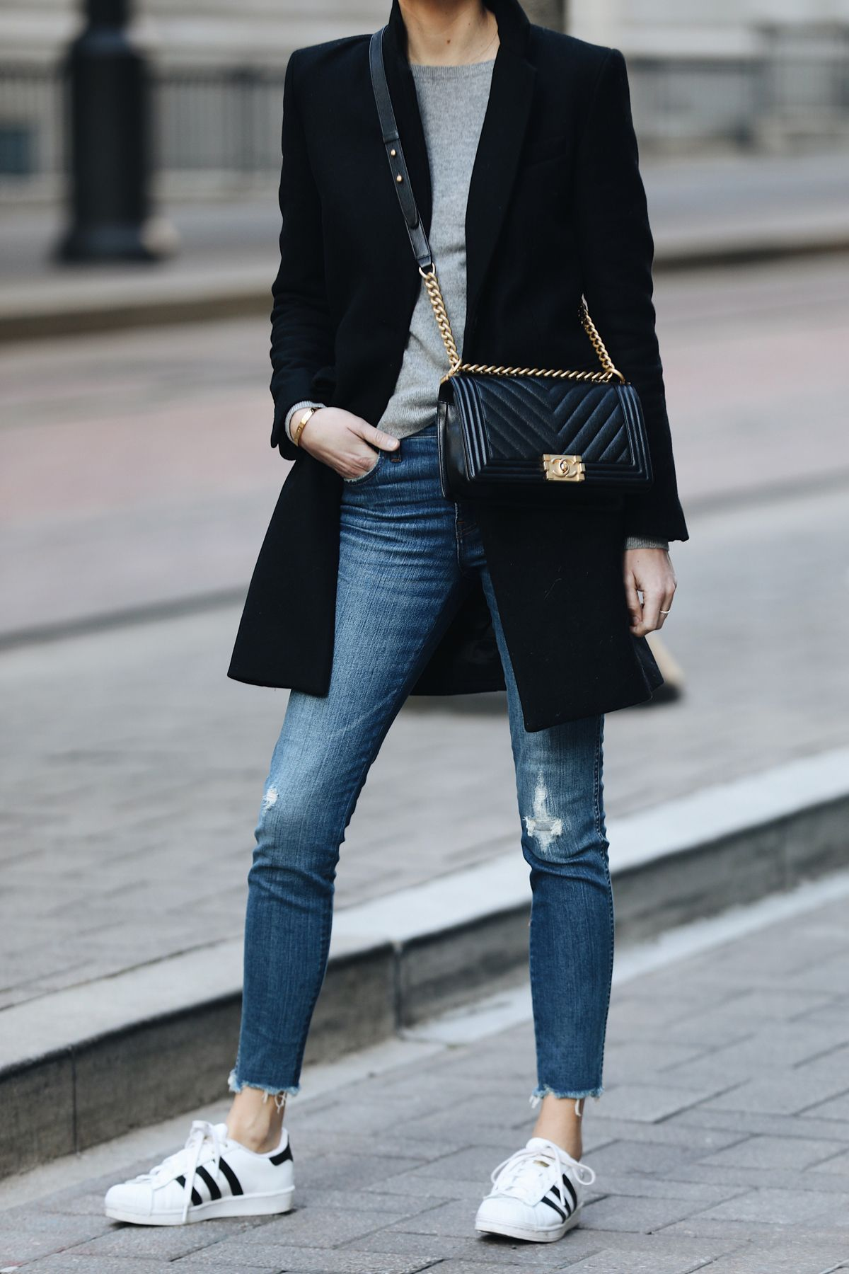 My Casual Weekend Outfit Fall Fashion Coats Sneaker