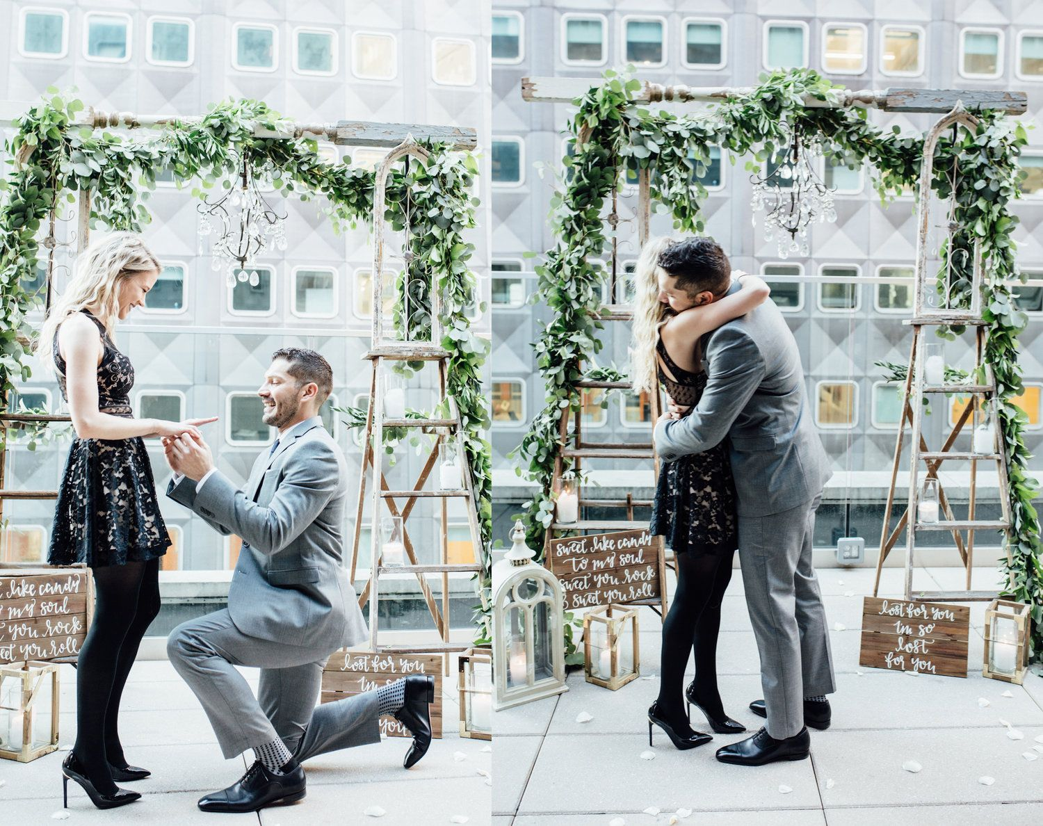 Ipw Reception Corporate Event Photographyorlando Wedding: Romantic Surprise Rooftop Proposal In Pittsburgh, PA