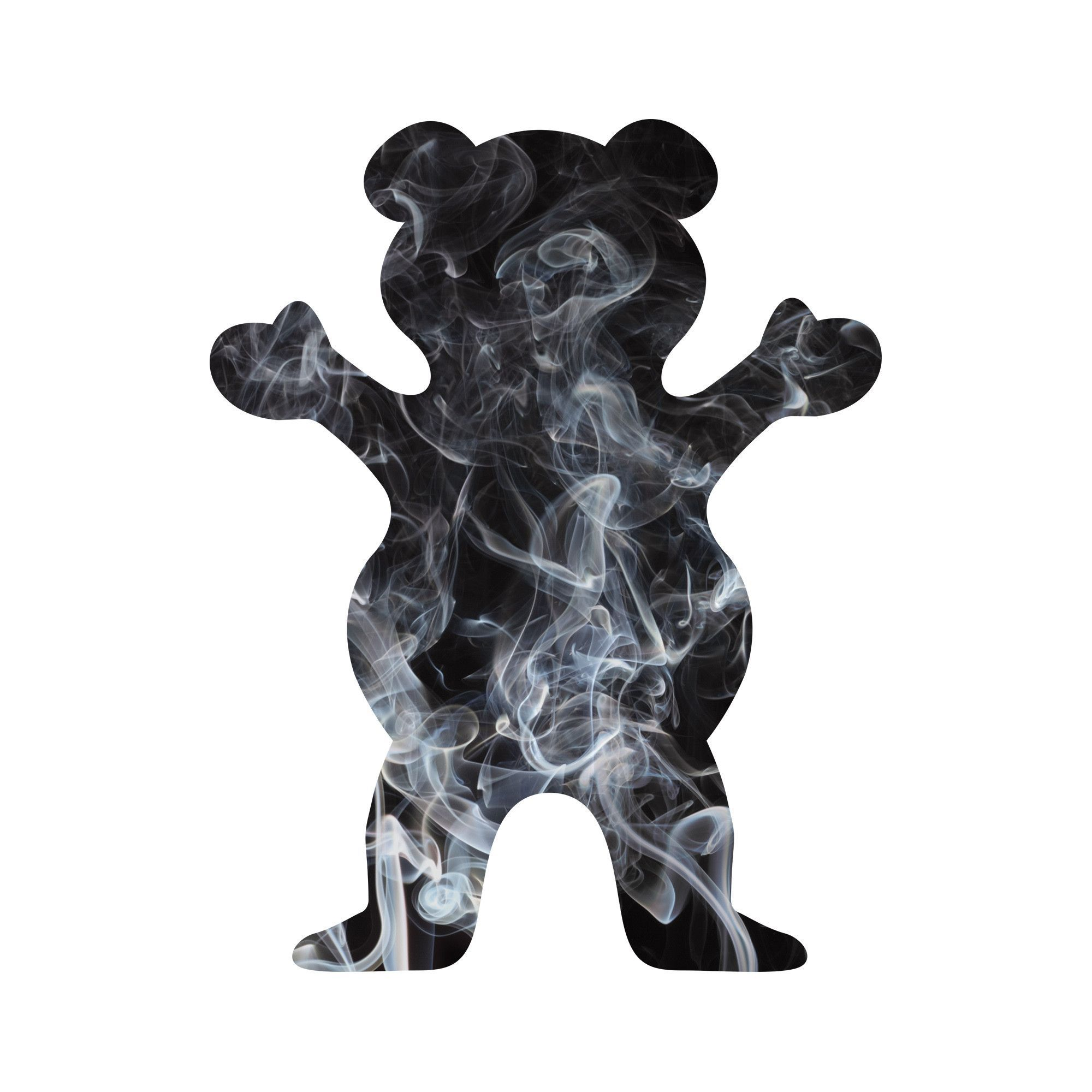 Smoke Fill Bear Sticker | Smoking, Bears and Wallpaper