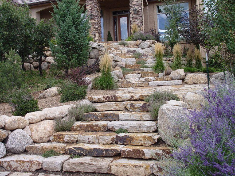 siloam steps for landscaping Fredell Enterprises Concrete Work