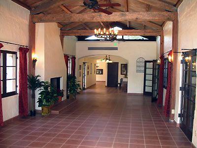Hidden Oaks, Rancho Cucamonga (interior - 1920s stone and ...