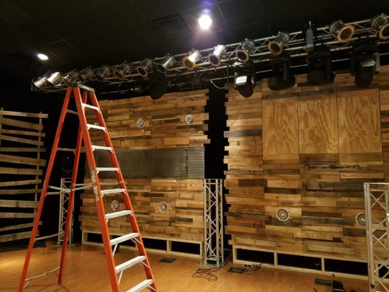 Pallets Are Blind Church Stage Design Ideas Reroofing Small Pallet Church Stage Design