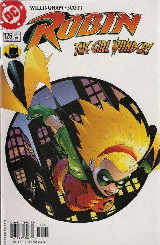 Robin Number 126 (The Girl Wonder) DC