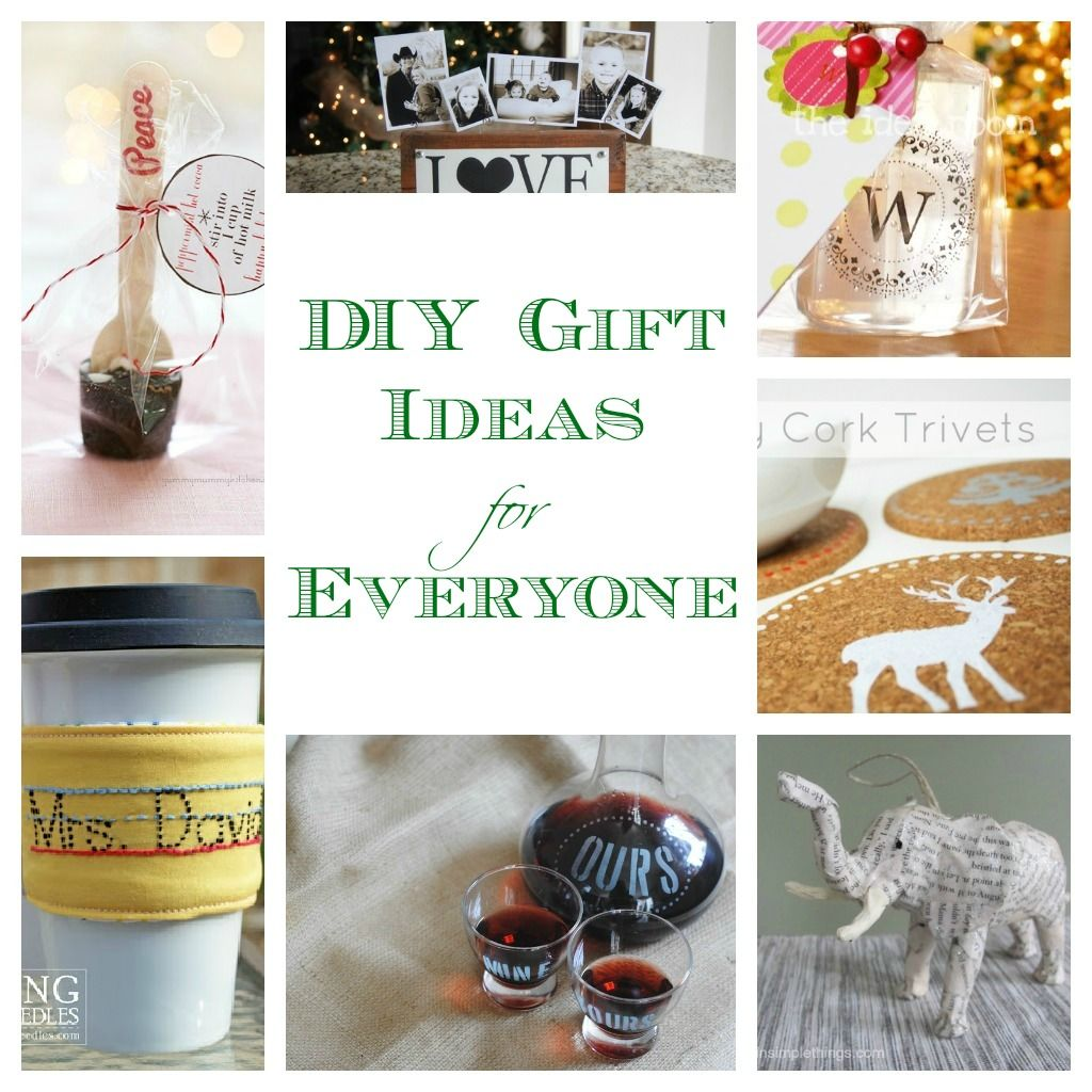 Homemade Gift Ideas (gorgeous DIY Ideas for Everyone on your list ...
