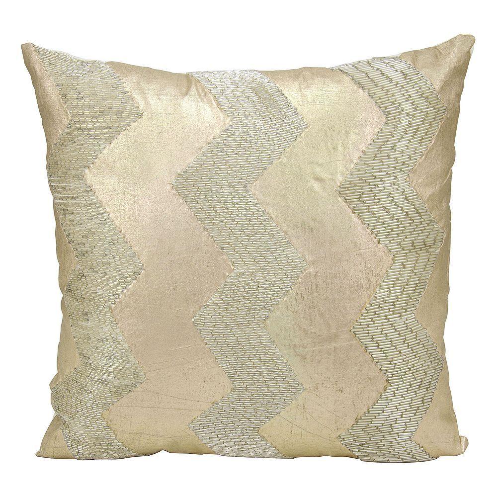 Mina victory luminescence chevron throw pillow chevron throw