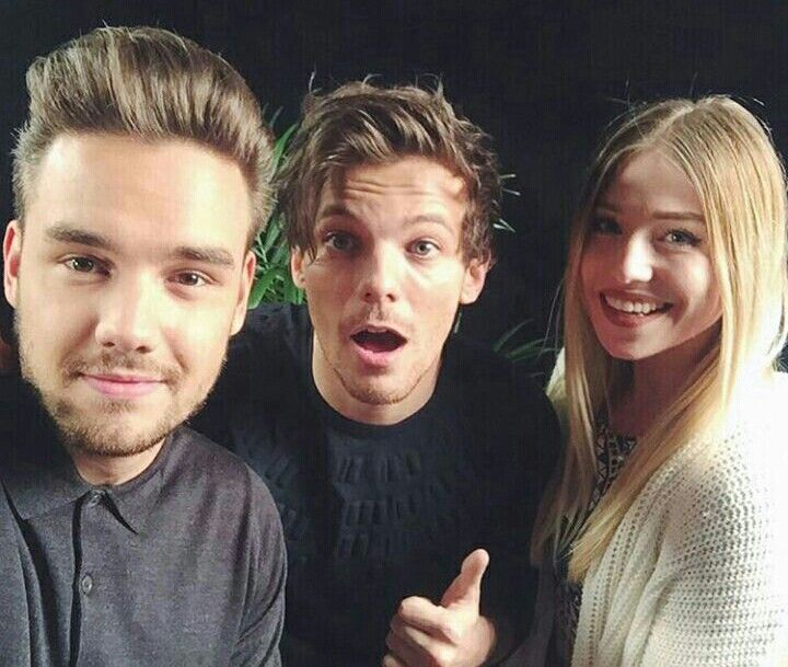 Liam & Louis with the German YouTuber bibisbeautypalace