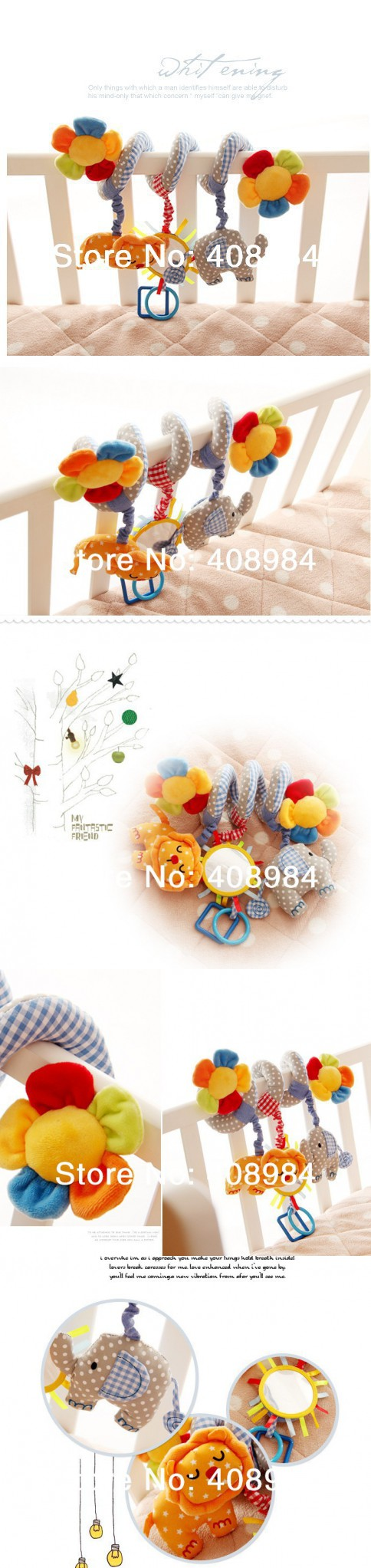 Car hanging toys  Infant Toys Baby crib revolves around the bed stroller playing toy