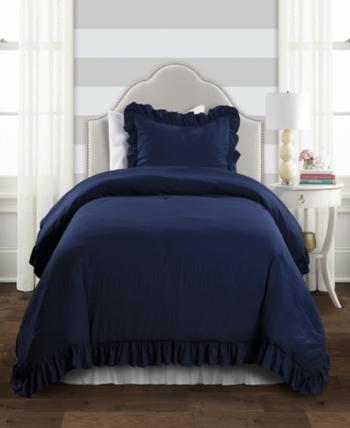 Lush Decor Reyna 2 Pc Twin Xl Comforter Set Reviews Bedding