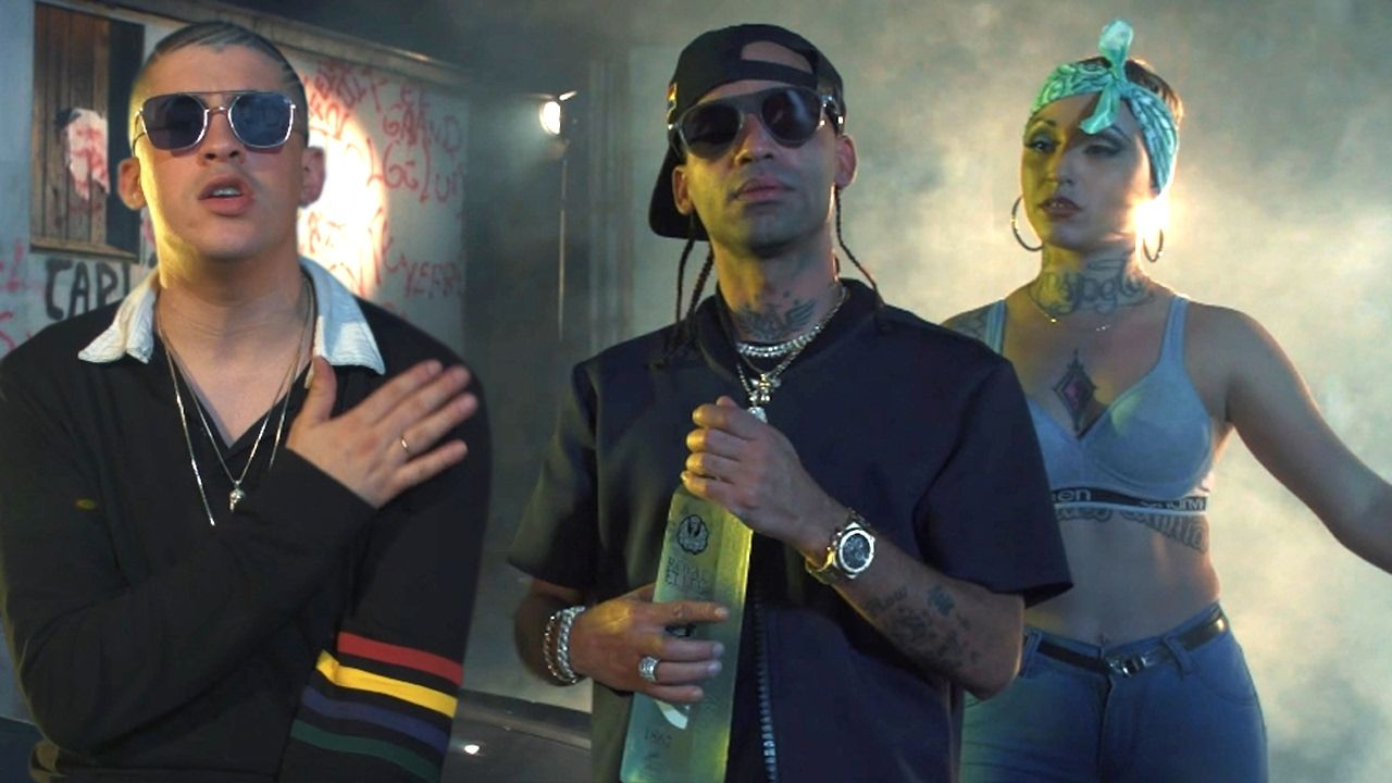 Arcangel Me Acostumbre Ft Bad Bunny Official Video Music