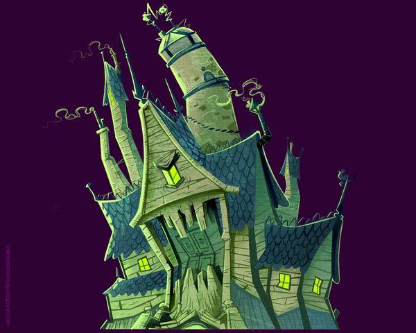 Cartoon Network Id Halloween Special Video Props Concept Cartoon Network Inspirational Illustration