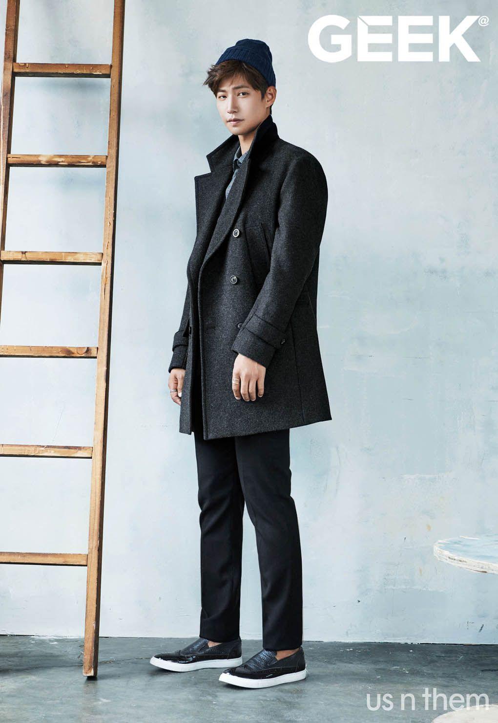 Song Jae Rim - Geek Magazine