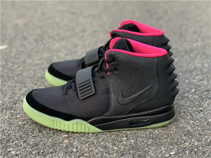 Restock Kanye West X Nike Air Yeezy 2 Nrg Solar Red For Sale Air Yeezy 2 Sneakers Men Fashion Air Yeezy