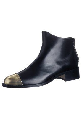BEAU5 - Ankle Boot - black gold