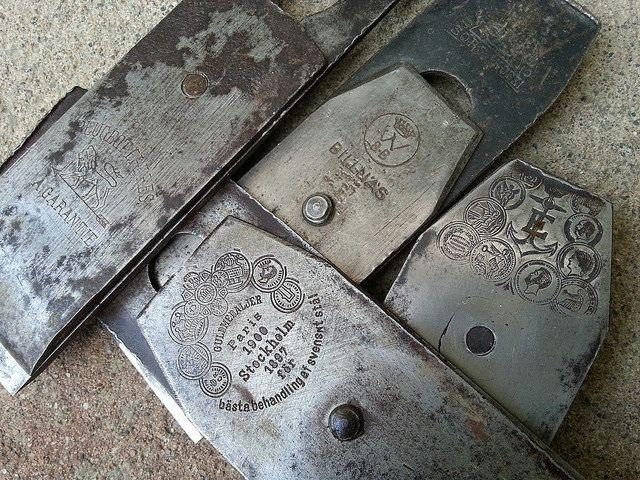 Vintage plane cutters