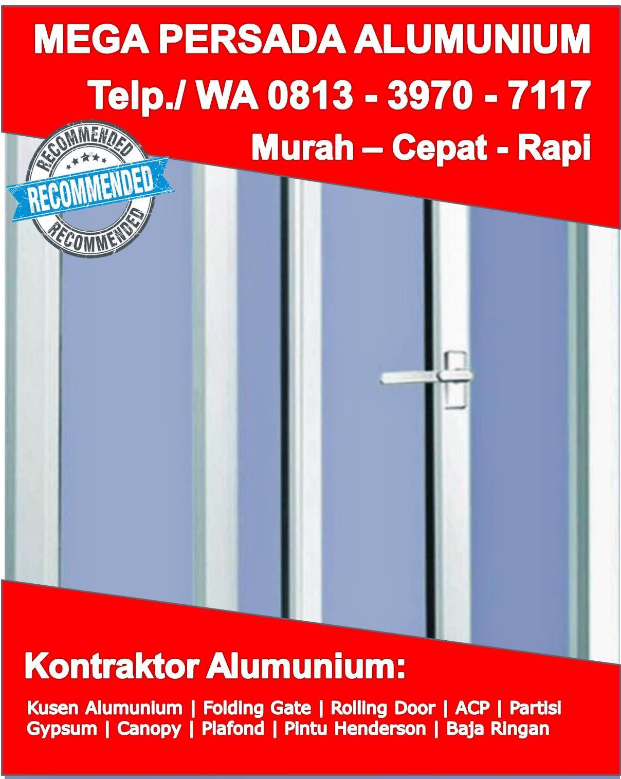 Kusen Aluminium Curtain Wall Sukoharjo Jual Kusen Aluminium Ykk