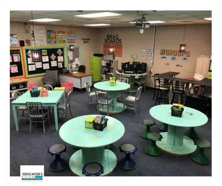 45 excellent diy classroom decoration ideas & themes to inspire you 19 ~ Litledress