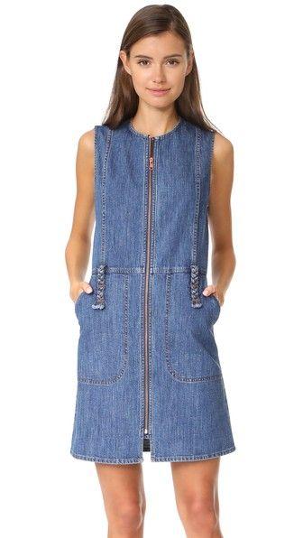 b27b850c0d SEE BY CHLOÉ Denim Dress.  seebychloé  cloth  dress  top  shirt  sweater   skirt  beachwear  activewear