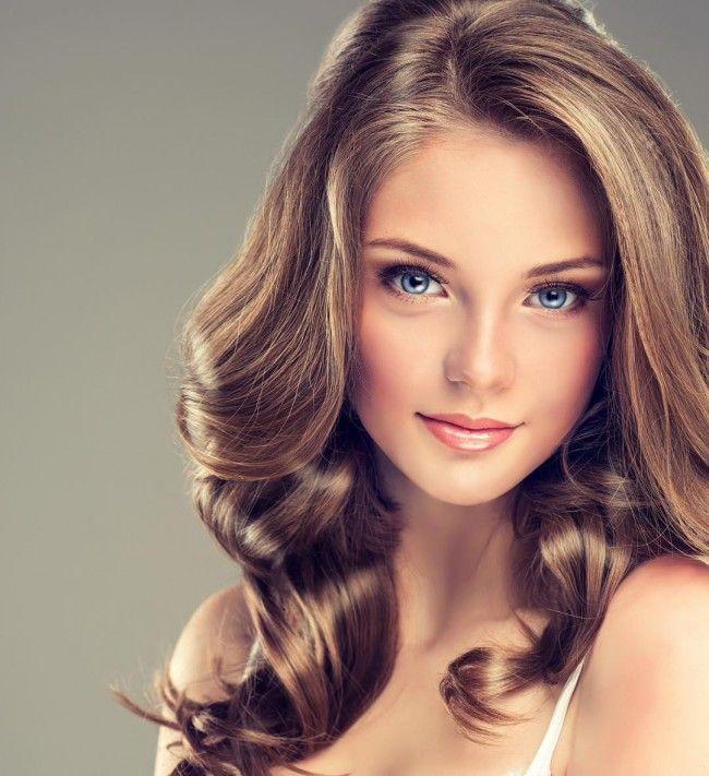 Fresh partial golden highlight on dark brown strands hair hair pmusecretfo Images