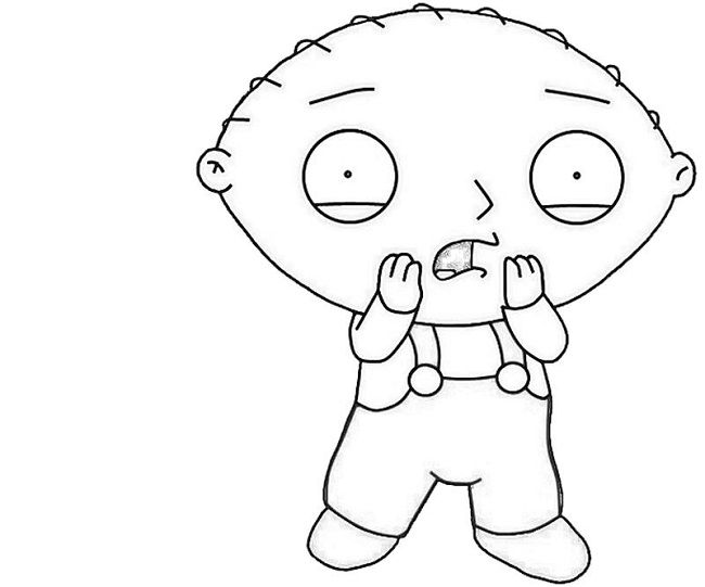 gangster stewie coloring pages | coloring Pages | Pinterest