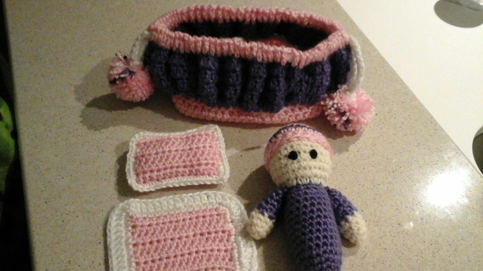 Poupée et acessoires : Fée crochet/crochet fairy Pattern on word ...
