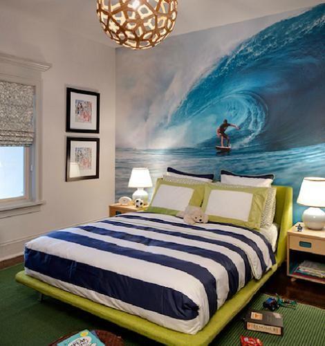 Dormitorios Con Estilo: Decoración De Dormitorios Con Estilo Surf